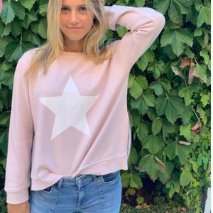 White Star Blush Sweat