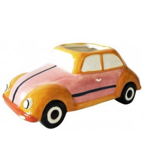 Retro Bug Planter Pink