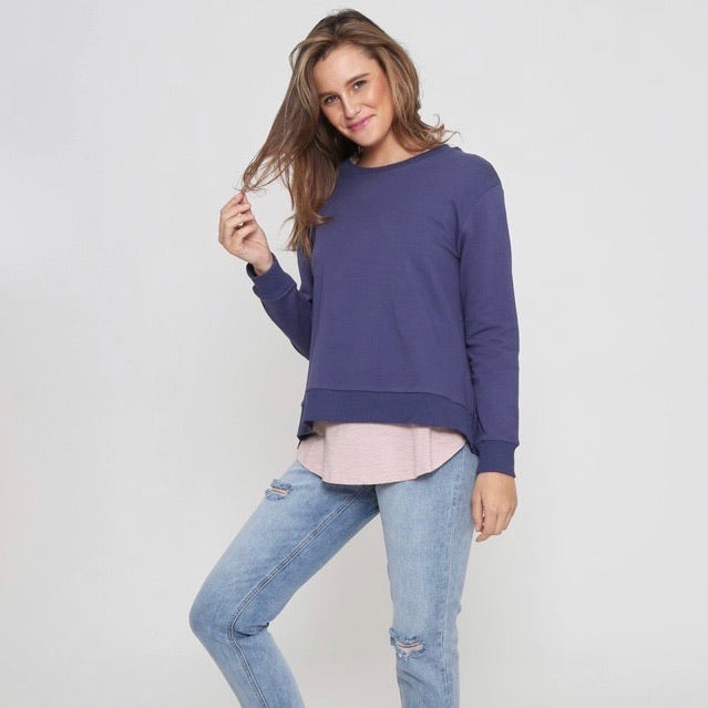 Basic Cotton Sweater