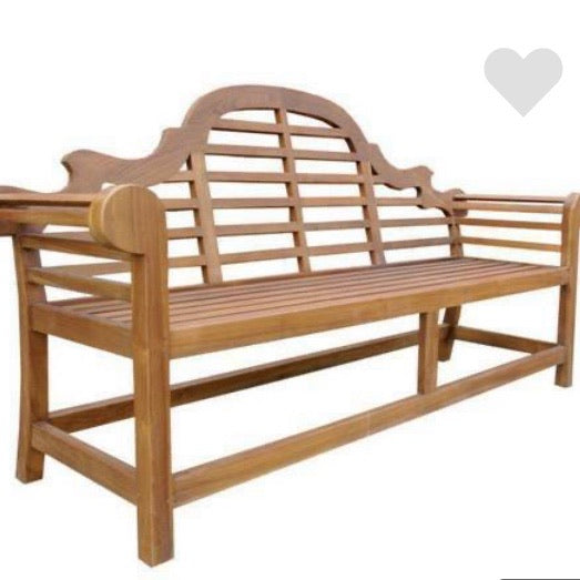 Solid Outdoor Teak Marlboro Bench 150cm
