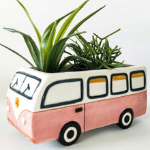 Load image into Gallery viewer, Retro Kombi Planter Pink 22x10cm