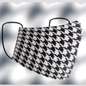 Face Mask Houndstooth