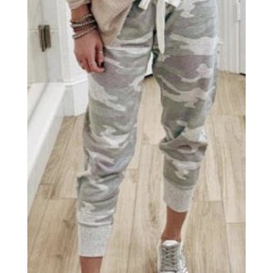 Camo Light Weight Track Pants