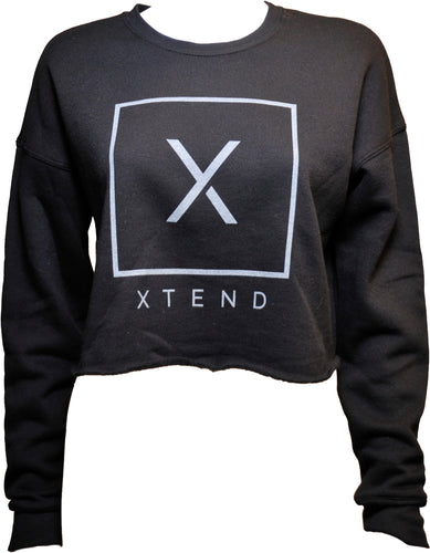 Xtend Crop Fleece Sweatshirt