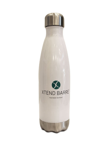 Xtend Barre Water Bottle - White