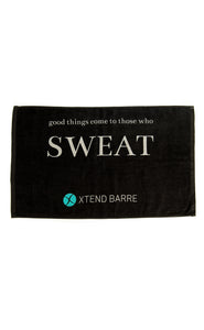 Xtend Barre Towel - Black