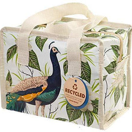 Peacock Eco Friendly Zip Up Lunch Bag - The Marvellous Market Stall