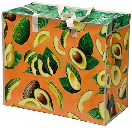 Fun Practical Laundry & Storage Bag - Avocado - The Marvellous Market Stall