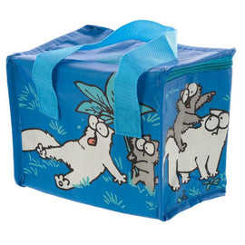 Blue Simon's Cat and Kitten Box Cool Lunch Bag - The Marvellous Market Stall
