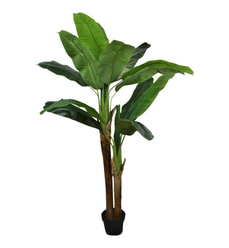 Artificial Banana Tree , 2 Stems, 160cm - The Marvellous Market Stall