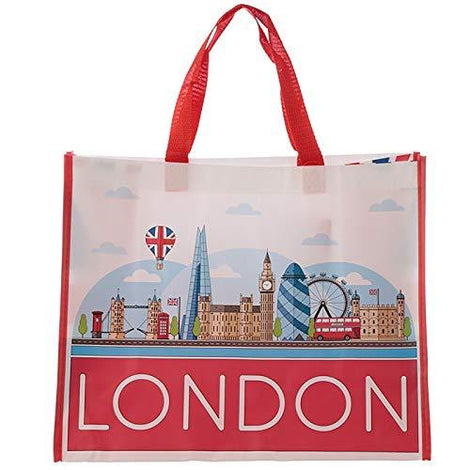 London Icons Design High Quality Reusable Shopper Tote Bag - The Marvellous Market Stall