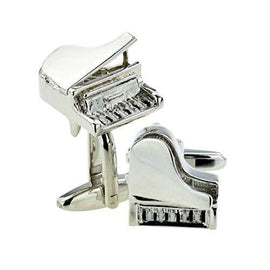 Grand Piano with Lid up Cufflinks (Exclusive design) - The Marvellous Market Stall