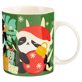 Christmas New Bone China Mug - Pandarama - The Marvellous Market Stall