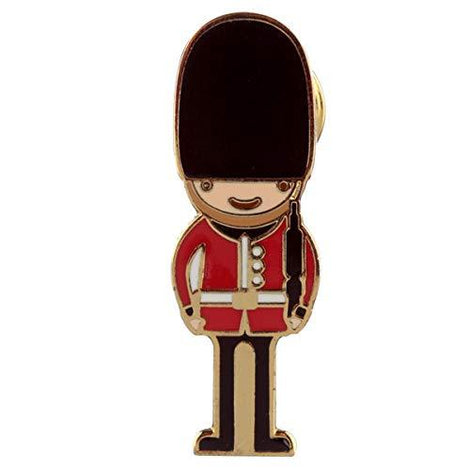 Novelty London Guardsman Design Enamel Pin Badge - The Marvellous Market Stall