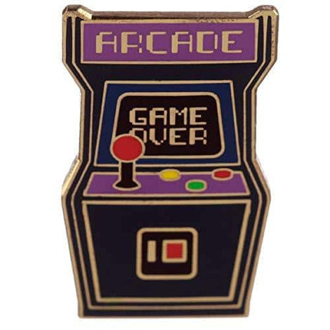 Novelty Arcade Game Design Enamel Pin Badge - The Marvellous Market Stall