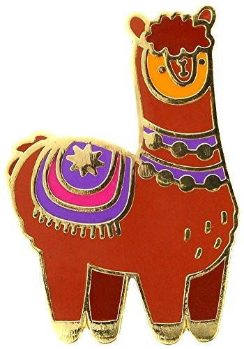 Collectable Alpaca Enamel Pin Badge - The Marvellous Market Stall