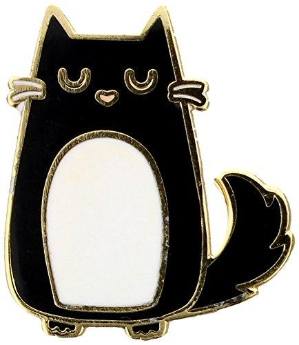 Collectable Feline Fine Cat Enamel Pin Badge - The Marvellous Market Stall