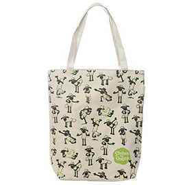 Handy Cotton Zip Up Shopping Bag - Shaun the Sheep Gift - The Marvellous Market Stall