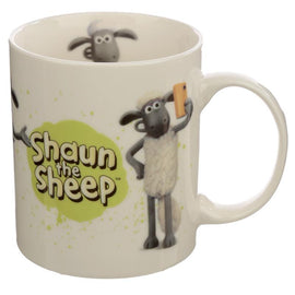 Collectable Porcelain Mug - Shaun the Sheep White - The Marvellous Market Stall