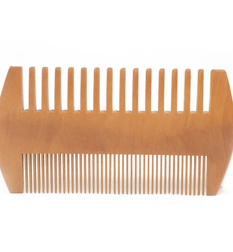 Two Sided Beard Comb Mens Hair Grooming Shaving Barbers Stylist Fashion Gift - The Marvellous Market Stall