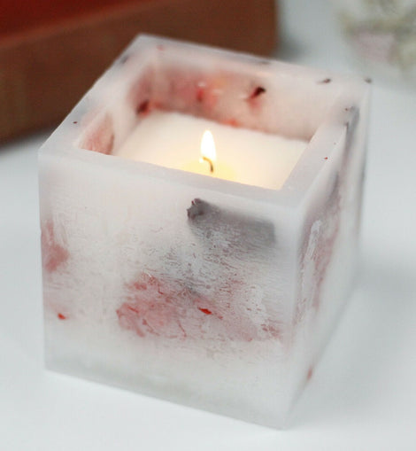 Enchanted Soy Wax Scented Candle Large Square - The Marvellous Market Stall