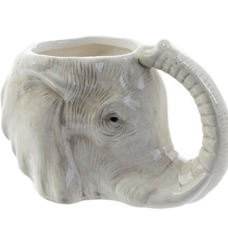 Ceramic Elephant Shaped Collectable Mug - The Marvellous Market Stall