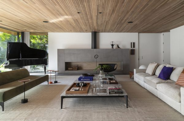 A Sprawling Luxury Home in Brazil that Emphasizes Fun and Creativity