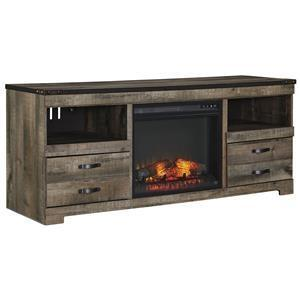 Luxurious Rustic Electric Fireplace Tv Stand
