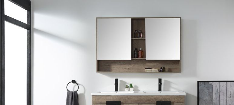 Is your bathroom countertop too cluttered? If so, it might be a good idea to purchase a medicine cabinet to help you with storing all your item