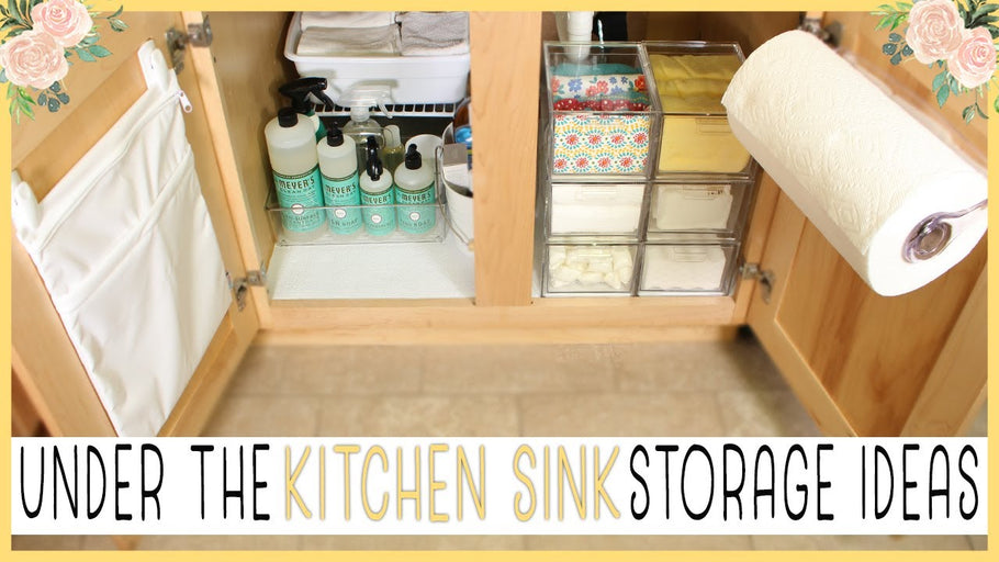 In this video, I'll share some practical under the kitchen sink storage ideas