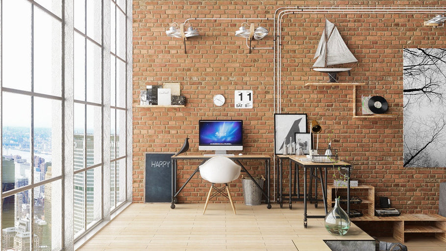 You can easily create a functional and practical home office with some home office design idea