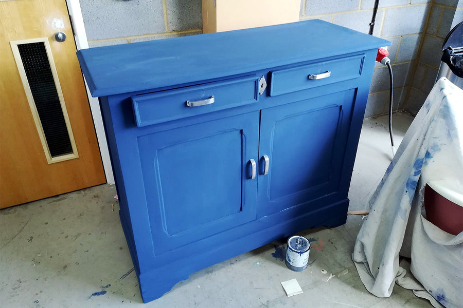 Transform a Flea Market Dresser With This Reality-Bending Paint Idea
