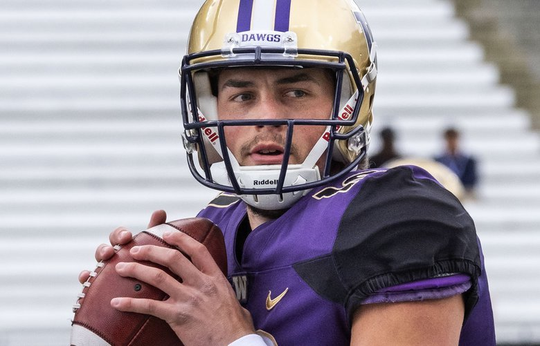 Jacob Eason won the starting job at Washington