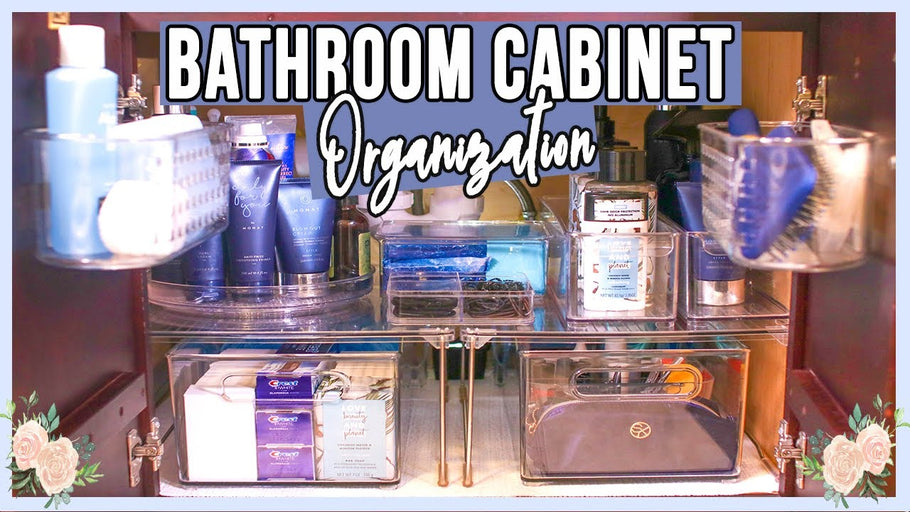 In this video, I'll share some practical bathroom cabinet storage ideas