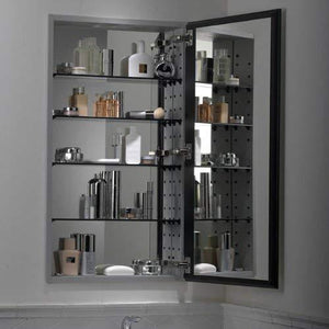 Products kohler k 2913 pg saa catalan mirrored cabinet with 107 hinge 1 satin anodized aluminum