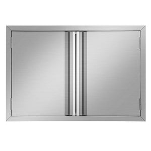 Organize with mornon bbq access door 304 stainless steel outdoor kitchen doors for grilling station outside cabinet barbeque grill 30 51 x 20 98inch
