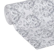 Load image into Gallery viewer, Try duck smooth top easy liner shelf liner top cabinet multipack 6 rolls each 12 width 10 length grey damask fð¾ur ñ€ð°ñ�k