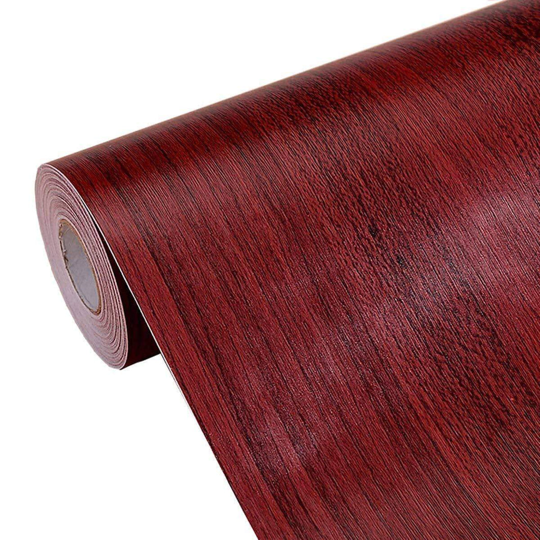 Best seller  textured faux wood grain contact paper self adhesive shelf liner for kitchen cabinets shelves countertop table arts crafts decal 17 7x196 inches