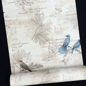 Save on f u blue birds vinyl contact paper self adhesive shelf drawer liner wall stickers for home room wall decal cabinet arts and crafts 17 7 x 393 inch roll