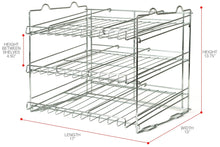 Load image into Gallery viewer, Order now sorbus can organizer rack 3 tier stackable can tracker pantry cabinet organizer holds up to 36 cans great storage for canned foods drinks and more in kitchen cupboard pantry
