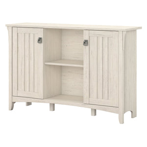 Best seller  bush furniture salinas accent storage cabinet with doors in antique white