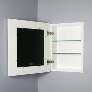 Exclusive 13x16 white concealed cabinet regular a recessed mirrorless medicine cabinet with a picture frame door available in multiple colors styles