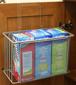 Shop for decobros over cabinet door organizer holder silver