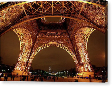 An Evening At The Eiffel - Canvas Print