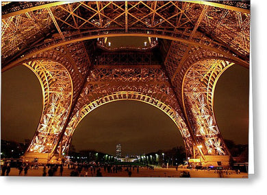 An Evening At The Eiffel - Greeting Card