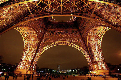 An Evening At The Eiffel - Art Print
