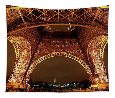 An Evening At The Eiffel - Tapestry