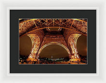Load image into Gallery viewer, An Evening At The Eiffel - Framed Print