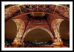 An Evening At The Eiffel - Framed Print
