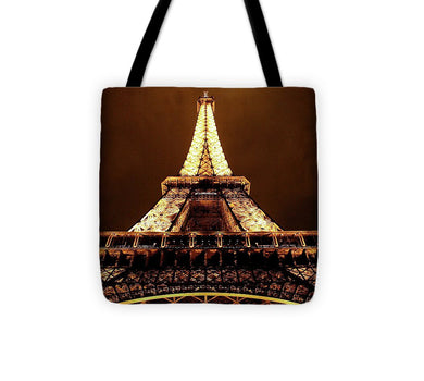 Eiffel Tower Glow - Tote Bag